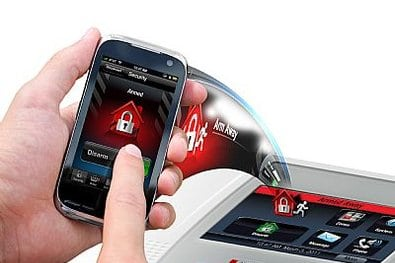 Mobile Cell Phone Fire Alarm and Security Systems